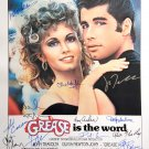Signed GREASE Movie Poster by 15 members of the Cast
