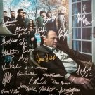 signed SOPRANOS FINAL SEASON Poster by 28 members of the Cast