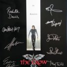 signed THE CROW MOVIE Poster by 12 members of the Cast
