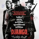 signed DJANGO UNCHAINED Movie Poster by 14 members of the Cast