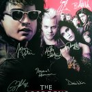 signed THE LOST BOYS Movie Poster by 11 members of the Cast