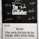 signed THE GODFATHER Movie Poster by 10 members of the Cast