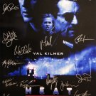 signed HEAT Movie Poster by 18 members of the Cast