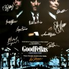signed GOODFELLAS Movie Poster by 10 members of the Cast