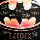 Signed BATMAN Movie Poster by 15 members of the Cast