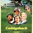 Signed CADDYSHACK Movie Poster by 7 members of the Cast