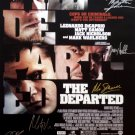 Signed THE DEPARTED Movie Poster by 9 members of the Cast