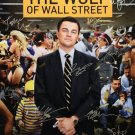 signed THE WOLF OF WALL STREET MOVIE Poster by 12 members of the Cast
