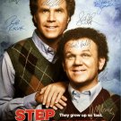 signed STEP BROTHERS MOVIE Poster by 9 members of the Cast
