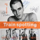 signed TRAIN SPOTTING MOVIE Poster by 9 members of the Cast