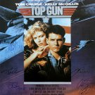 Signed TOP GUN Movie Poster by 9 members of the Cast