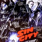 Signed SIN CITY Movie Poster by 22 members of the Cast