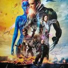 Signed XMEN DAYS OF FUTURE PAST Movie Poster by 21 members of the Cast