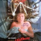signed A NIGHTMARE ON ELM STREET MOVIE Poster by 6 members of the Cast