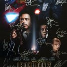 Signed IRON MAN 2 Movie Poster by 16 members of the Cast