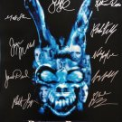 signed DONNIE DARKO Movie Poster by 10 members of the Cast