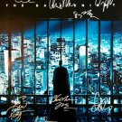 Signed THE DARK KNIGHT Movie Poster by 14 members of the Cast