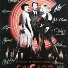 signed CHICAGO MOVIE Poster by 13 members of the Cast