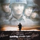 Signed SAVING PRIVATE RYAN Movie Poster by 13 members of the Cast