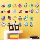 Alphabet Wall Decals with kid's name Wall Decals Girls and boys Bedroom Wall Stickers