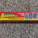 1991 Topps Micro Card complet set