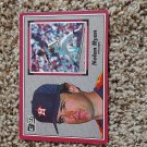 1983 Donruss Oversized Nolan Ryan Card