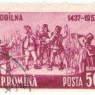 1957 Romania CTO:The 520th Anniversary of the Peasant Uprising in Bobilna