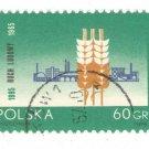 1965 Poland CTO: The 70th Anniversary of the Peasant Movement