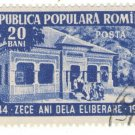 1954 Romania Used Stamp: The 10th Anniversary of the Fall of Fascistic Regime