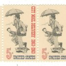 (9) 1963-67 United States 5c Pairs
