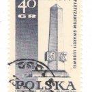 1968 Poland CTO: Memorials for the Sacrifices of World War II
