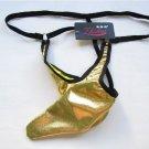 Hot Gun-type Pocket Pattern Sexy Gstring Underwear for Men - Golden