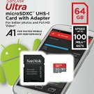 SD Cart SanDisk Ultra A1 64GB MicroSD XC Class 10 UHS1 Mobile Memory Card