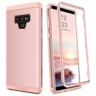 Galaxy Note 9 Case Hybrid 3 in 1 Soft TPU Bumper Protective Cover  Heavy Duty