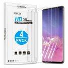 Samsung Galaxy S10  Screen Protector 4 Pack Full Coverage Flexible TPU Film