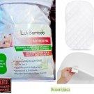iLuvBamboo Waterproof Bassinet Pad Cover To Fit Halo Swivel Sleeper Mattress Pad