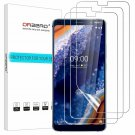 Nokia 9 PureView Tempered Glass Screen Protector Bubble Free 3Pack Full Coverage