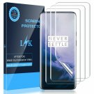 Oneplus 7 Pro Fingerprint Flexible TPU Film HD Utra Clear Anti Scratch 3 Pack