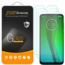 Motorola Moto G7 3 Pack Tempered Glass Screen Protector Anti Scratch Bubble Free