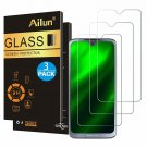 Motorola Moto G7 3 Pack Ultra Clear Tempered Glass Screen Protector Bubble Free