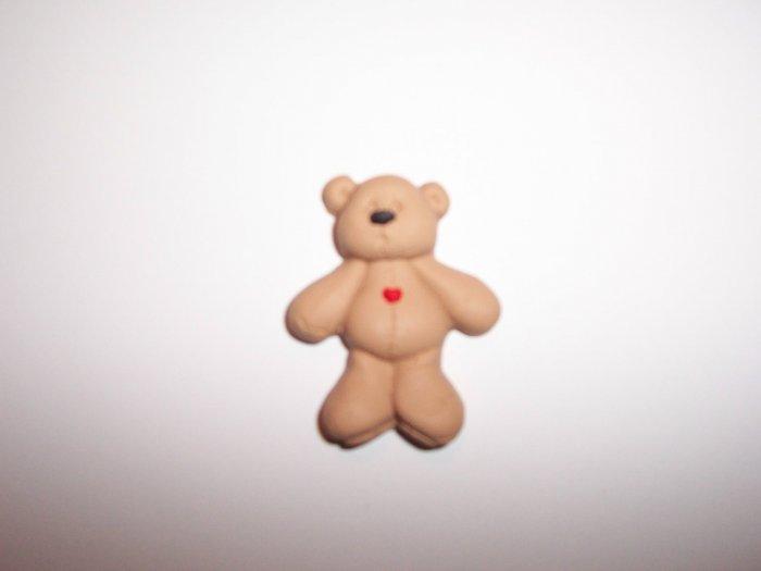 Standing Bear Fridge Magnet and Keyring