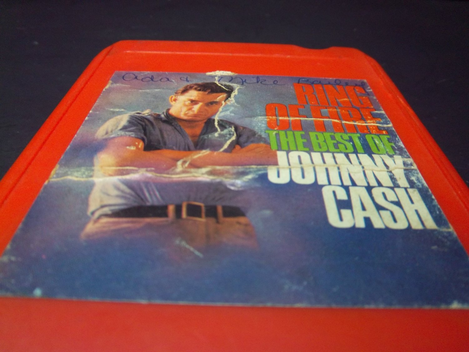 Johnny Cash Ring Of Fire - 18 10 0070 - 8 Track (E-1224)