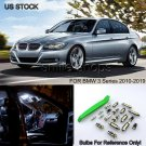 Error Free 6000k White Interior LED Light Package For BMW E90 E91 E92 3 Series