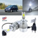 1300W 195000LM H7 LED Conversion Headlight Kit Low Beam Bulbs For VW Volkswagen