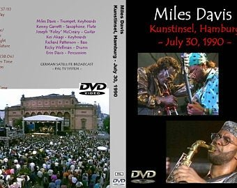 "MILES DAVIS ""Live In Hamburg 1990"" (Complete Broadcast) 2DVD R"