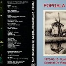 """POPGALA ( Various Artists) """"The Netherlands 1973"""" DVD R"""