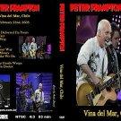 """PETER FRAMPTON """"Vina del mar, Chile 2008"""" DVD R"""