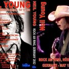 """NEIL YOUNG with Poncho & The MG's """"Rock Am Ring - Germany 2002"""" 2 Dvd R"""