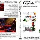 """GUITAR LEGENDS EXPO' Sevilla 1992 """"Hard Rock Night"""" Dvd R"""
