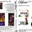 """GUITAR LEGENDS EXPO' Sevilla 1992 """"Folk Rock Night"""" Dvd R"""